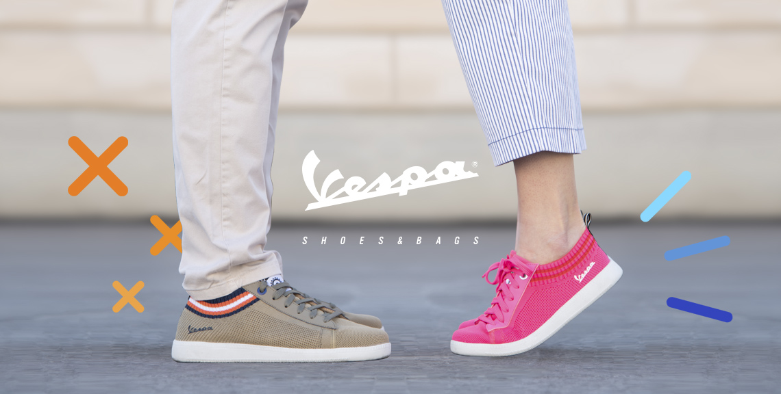 About Vespa Shoes and Bags