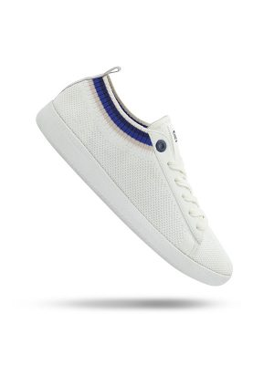 Vespa Scarpe Pop The White Universe Blu