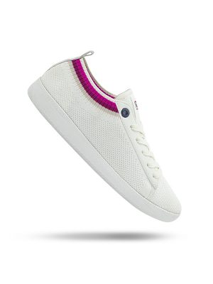 Vespa Shoes Pop The White Universe Fuchsia