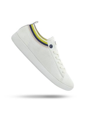 Vespa Shoes Pop The White Universe Yellow