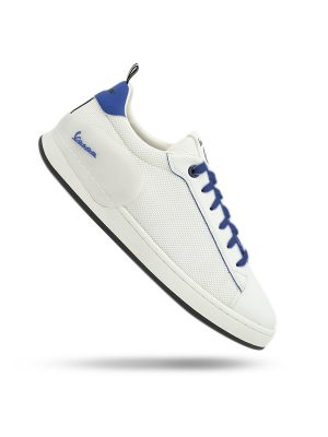 Vespa Shoes Freccia White Blue